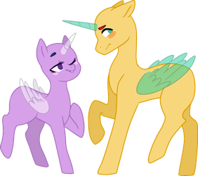 MLP Base - Hello there by Rochelle-Bases