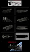 Contention: UES Aelius-class light cruiser WIP by Malcontent1692