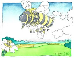 Steam Bee by WillMcLean