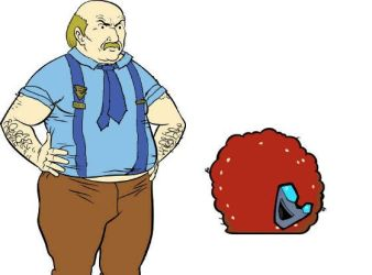 This is why I hate Aqua Teens. by zodberg