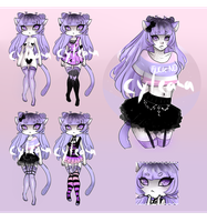 Pastel Gleamstic Auction!  [CLOSED] by Cyleana