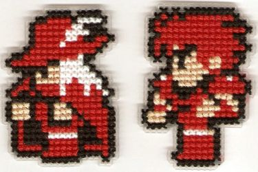 Final Fantasy Sprites 3 by Kiela-Starcatcher