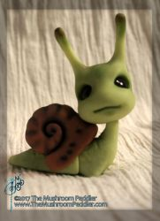 Slimey the Snail BJD - Preorder by TheMushroomPeddler