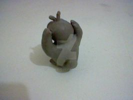 Psyduck model in clay _back_ by andreruz