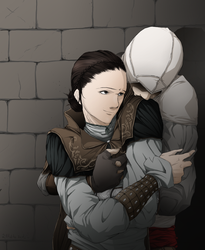 Request: Altair and Maria by Lillilolita
