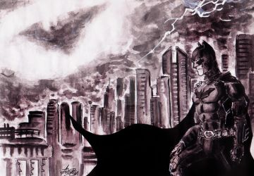 The Dark Knight - There's A Storm Coming by anonymous1310