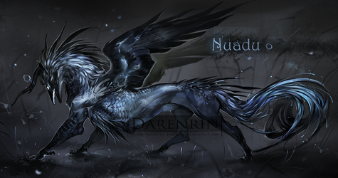 Character auction(closed)| Nuadu by Darenrin