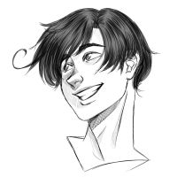 (Commision) Smiling Romano by TomatoAndLettuce
