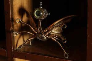 Steampunk Sculpture Monster by CatherinetteRings