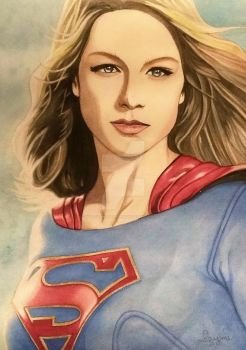 Supergirl 2 Finished (2) by justjaymiartbydesign