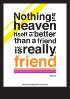 Friendship quotation by tokarnia