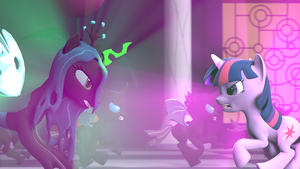 [YouTube] Canterlot Battle (I Can't Stop) by KelchanFerret