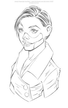 Doctor Poison - Pencils by Jon-Moss