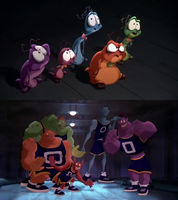 Nerdlucks and Monstars (Space Jam) by dlee1293847