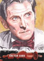 Hammer Horror - Peter Cushing by tdastick