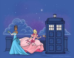 The Princess and the Doctor by khallion