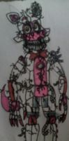 Nightmare Funtime Foxy v2 by FreddleFrooby