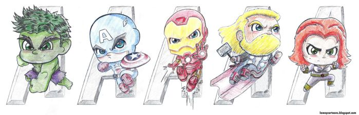 Avengers Assemble by AngelCrusher