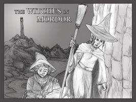 Discworld: Witches in Mordor by who-the-moon-is