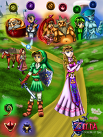 The Legend of Zelda: Ocarina of Time by WhiteMageOfTermina