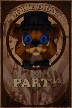 Freddy Poster by MrMittensMeow
