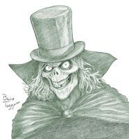 Hatbox Ghost by staino