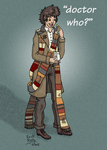 The Fourth Doctor by Erikku8