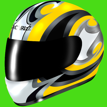 Racing Helmet by CkChRIzZ