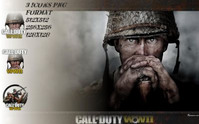 Icones Call of Duty : WWII soldats by favorisxp