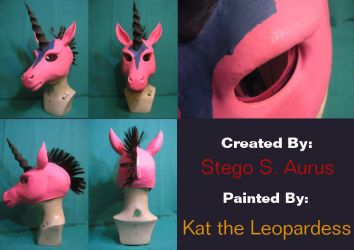 Painted Gas Mask: Pony Ronin by Catwoman69y2k
