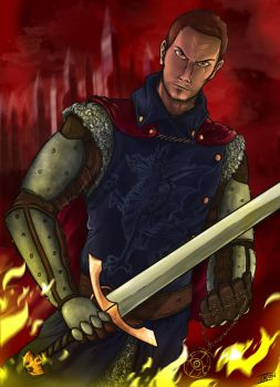 Chaol Westfall, The Captain Unwaivering by Memphiston