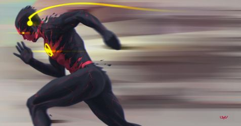 -- Reverse Flash -- by yvanquinet