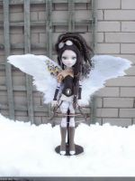 monster high custom doll steampunk aviator by Rach-Hells-Dollhaus