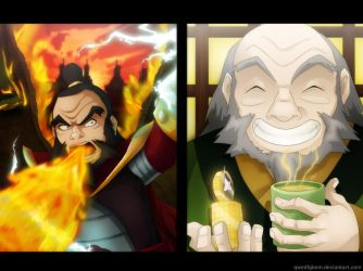 Two Sides - Uncle Iroh by Hugo-H2P