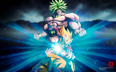 Dony910 17 1 Goku Vs Broly Wallpaper By