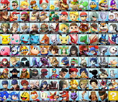 Super Smash Bros Ultimate Roster by Lucas-Zero