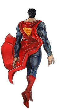 SUPERMAN by muttfischer