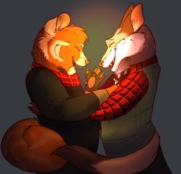 Warmer with You by thepoisonjackal