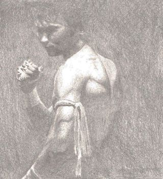 Tony Jaa by b-baller83