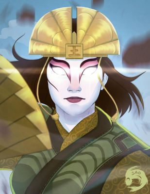 Avatar Kyoshi (YouTube!) by SaoShinda