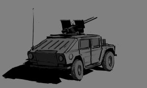 Humvee sketch by Pyrosity