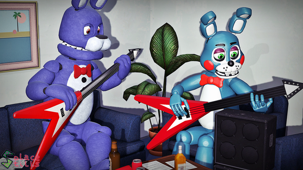 [SFM] Guitar Lessons by Solace-Stills