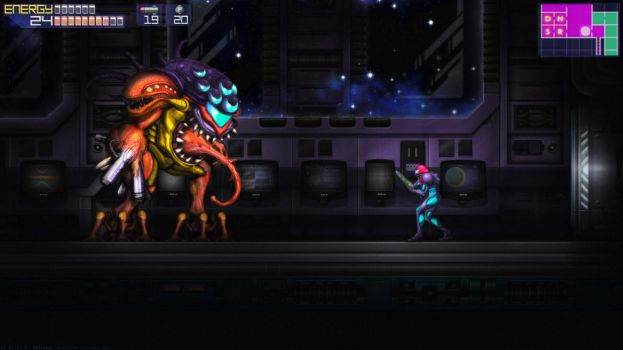 Metroid Fusion SA-X Boss - Alternate Version by Billysan291