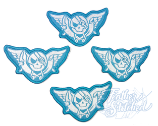 Blue Rogue Patches by FeatherStitched