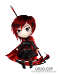 Ruby Rose chibi by Louiology