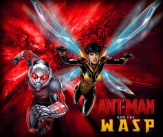 Ant-Man and The Wasp by Nomada-Warrior