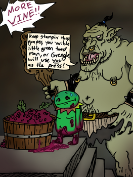 Garret the Frog is captured by trolls by vtheawesoeme