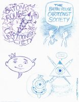 BRCS Logo sketches by strickart