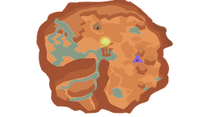 The Forgotten Desert Map by Goldstar345