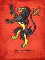 Pokemon / Game of Thrones: Luxray / Lannister